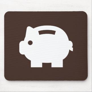 Piggy Bank Pictogram Mousepad