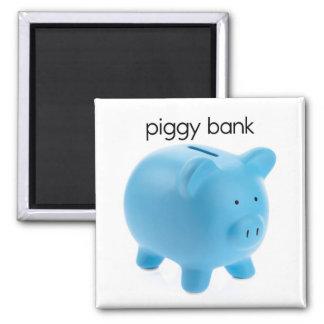 Piggy Bank Refrigerator Magnet