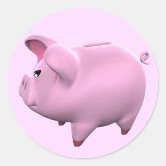 Piggy Bank Toon Sticker