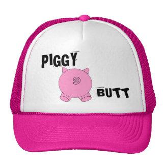 piggy butt, PIGGY, BUTT Mesh Hat