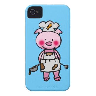 piggy chef iPhone 4 cover
