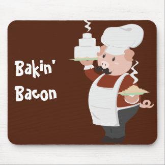 Piggy Chef Mousepad