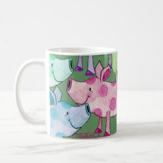 Piggy Collage Coffee Mug