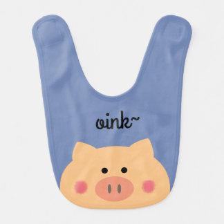 Piggy Face Bib