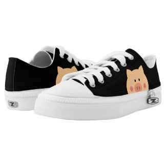 Piggy Face Low Tops