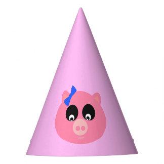 Piggy Face Party Hat
