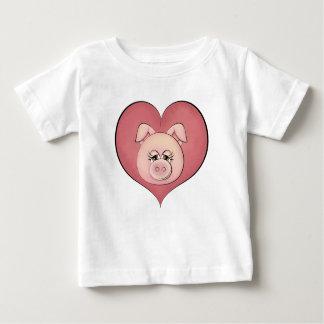 Piggy Face (temp) Baby T-Shirt