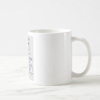 piggy forever blue coffee mug