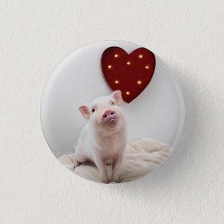 Piggy Heart Button