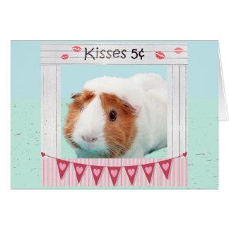 Piggy Hugs and Kisses Card