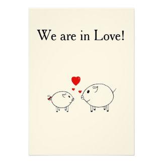 PiGgy in Love. Cards