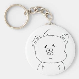 Piggy Luck Keychain