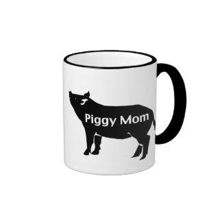 Piggy Mom Coffee Mugs