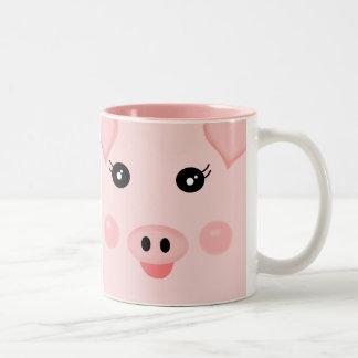 piggy coffee mugs