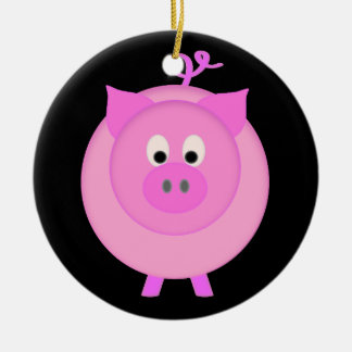 Piggy Pig Christmas Ornament
