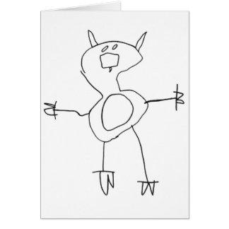 Piggy Pig Greeting Card