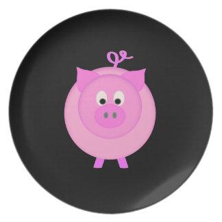 Piggy Pig Plate