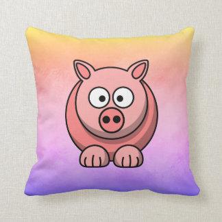 Piggy Piglet Little Pink Pig Cute Pastel Cushion