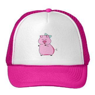 Piggy Pink Trucker Hats