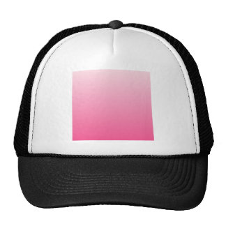 Piggy Pink to French Rose Horizontal Gradient Trucker Hat