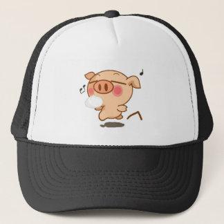 Piggy Pirouettes Trucker Hat