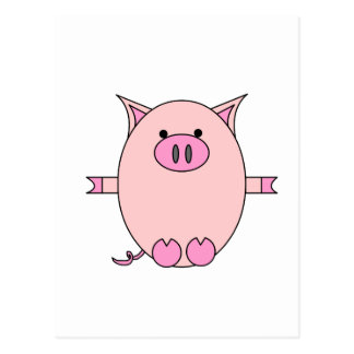 Piggy Power Postcard