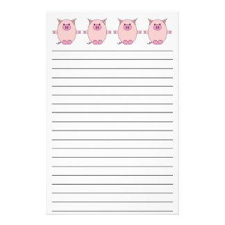 Piggy Power Stationery