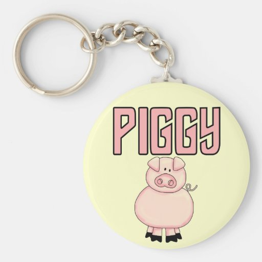 Piggy T-shirts and Gifts Key Chains