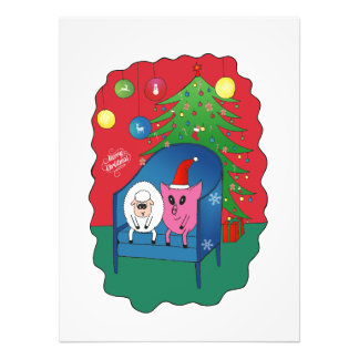 PiGgy with Sheepy! Photographic Print