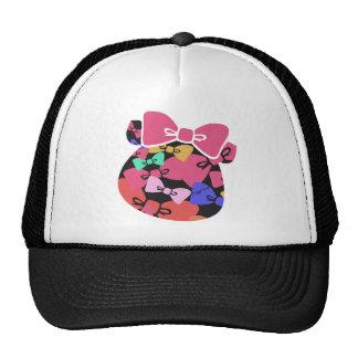 Piggy's face-ribon- trucker hat