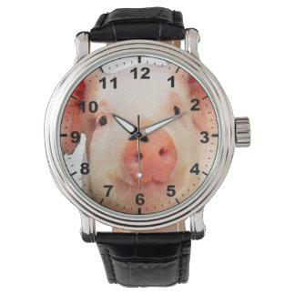 """""""Piglet 2"""" design wrist watch"""