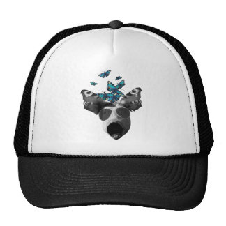Piglet And Butterfly Pig Animal Cap
