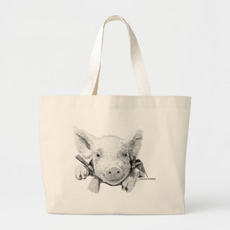 Piglet Tote Bags