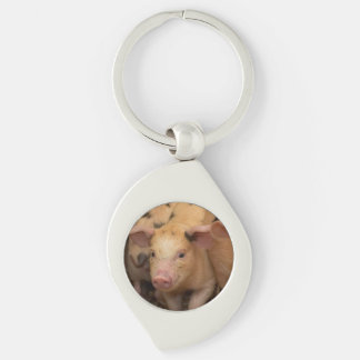 """""""Piglet"""" design gifts and products Key Chains"""