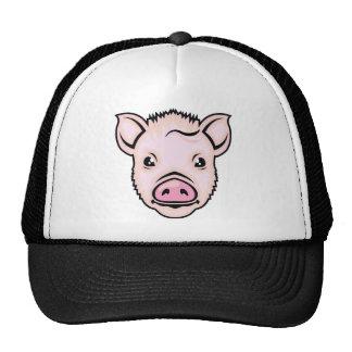 Piglet head vector cap