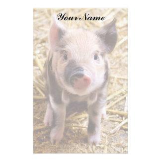 Piglet Personalized Stationery