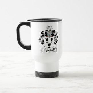 Pignatelli Family Crest Stainless Steel Travel Mug