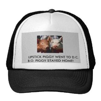pigs[1], pigs[1],       LIPSTICK PIGGY WENT TO ... Trucker Hats