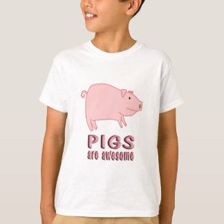 Pigs are Awesome T-Shirt