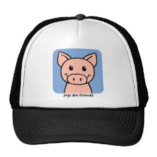 Pigs Are Friends Cap