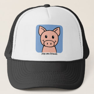 Pigs Are Friends Trucker Hat