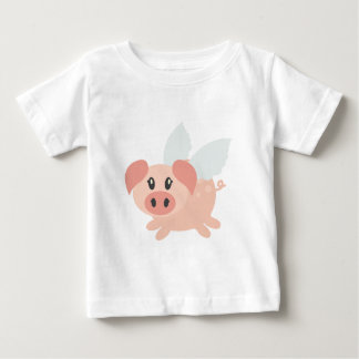 Pigs Can Fly Baby T-Shirt