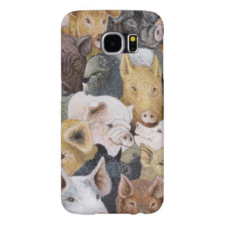 Pigs Galore Samsung Galaxy S6 Cases