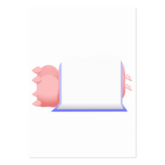 Pigs In A Blue Blanket Business Card