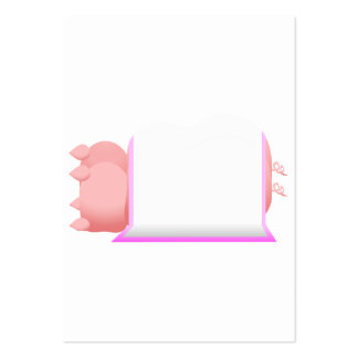 Pigs In A Pink Blanket Business Card Templates