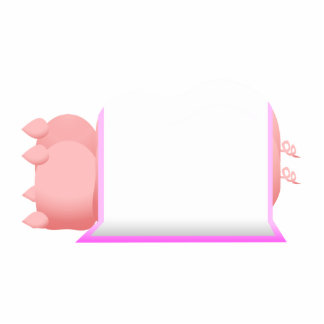 Pigs In A Pink Blanket Photo Sculptures