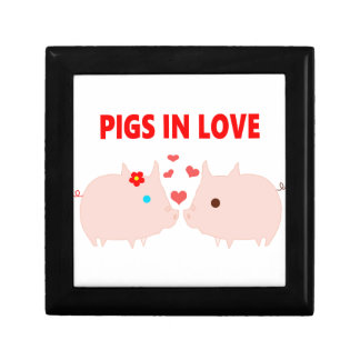 pigs in love gift box