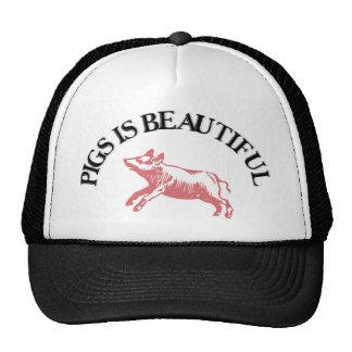 Pigs is Beautiful Cap