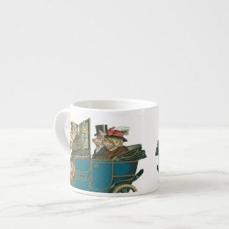Pigs Night Out - Funny Vintage Expresso Mug Espresso Mugs