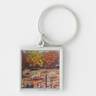 Pigs & Roosters Key Chains